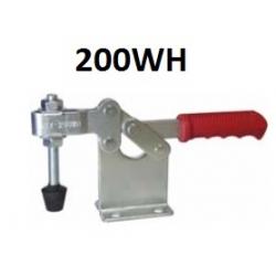 Струбцины прижимные 200WH 400KG c горизонтальной ручкой