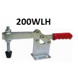 Струбцины прижимные 200WLH 400KG c горизонтальной ручкой