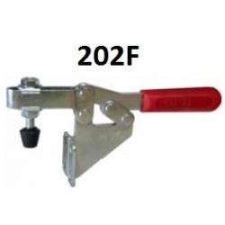 Струбцины прижимные 202F 250KG c горизонтальной ручкой