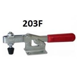 Струбцины прижимные 203F 227KG c горизонтальной ручкой