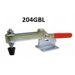 Струбцины прижимные 204GBL 630KG c горизонтальной ручкой