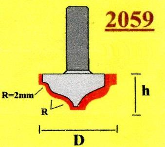 Фреза Globus 2059