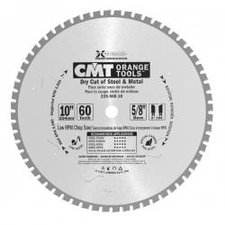 """Пильные диски CMT для пиления стали, железа """" сухой рез"""