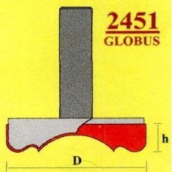 Фреза Globus 2451