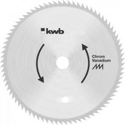 Пильный диск KWB B65 190x16x1,4x100z без напайки чистый рез
