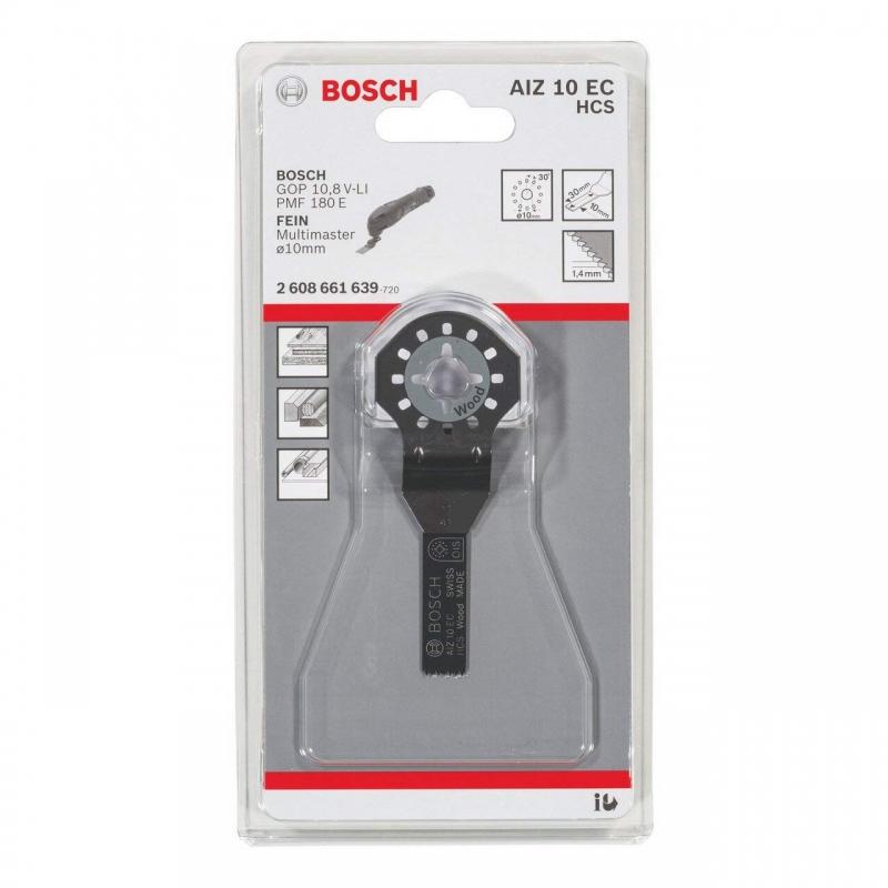 Погружное пильное полотно Bosch HCS AIZ 10 EC Wood