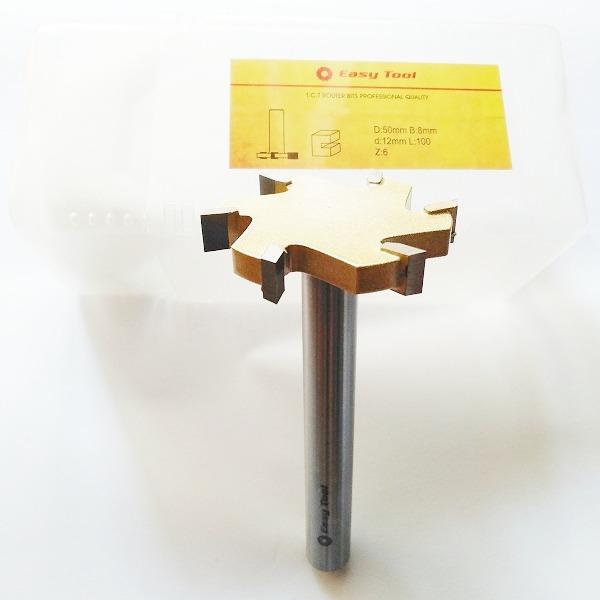 Фреза Easy Tool для выравнивания поверхности Z6 D50 h8 L100 d12