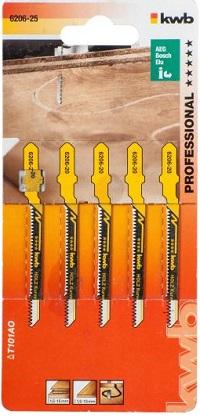 Пилочки Kwb 6206-25 T101AO 5шт Для фигурного реза