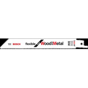 Сабельное пильное полотно Bosch S 922 VF Для дерева и металла 150мм 1шт
