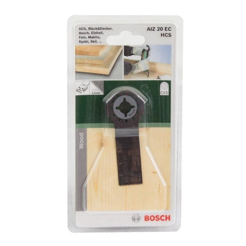 Погружное пильное полотно Bosch HCS AIZ 20 EC Wood