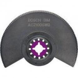 Сегментированый нож с волнистой заточкой Starlock Bosch BIM ACZ 100  SWB